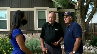 Veteran's home gets much-needed repairs thanks to Lone Tree community and Denver7 viewers