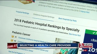 Selecting a health care provider