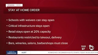 Stay at home order to take effect