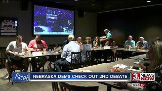 Nebraska Democrats check out second debate
