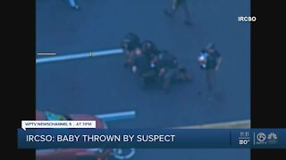 Baby thrown by Indian River County chase suspect