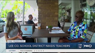 Help Wanted: School Board Member on why you should work for Lee County School District