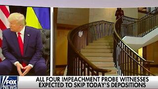 White House witnesses defy impeachment deposition subpoenas