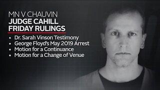 Latest on Derek Chauvin trial