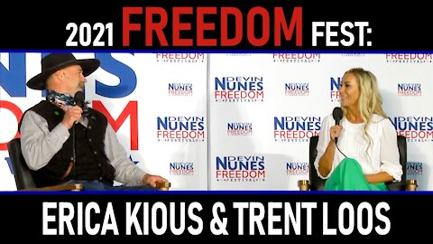 2021 Freedom Fest: Erica Kious and Trent Loos
