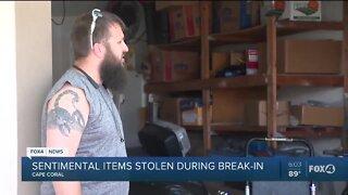 Local family makes plea for return of stolen sentimental items