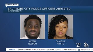 Two Baltimore City Police officers arrested following hit-and-run in Parkville