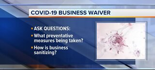 COVID-19 business waivers