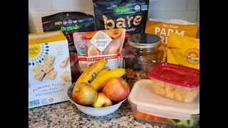 Prepping Healthy Snacks