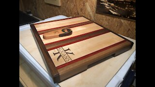 Custom Made Hard Wood cutting board