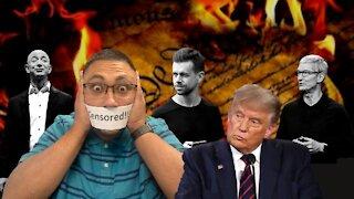 The DESTRUCTION of FREE SPEECH!!!