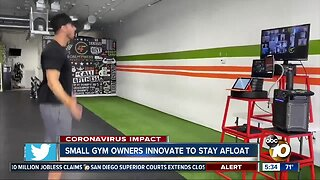 San Diego gym trying to stay afloat amid pandemic closure