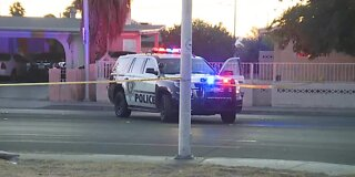 Police: Homicide investigation in Las Vegas Sunday morning