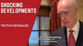 SHOCKING DEVELOPMENTS: Lt. Gen. Thomas McInerney reveals the REAL TRUTH about Washington DC