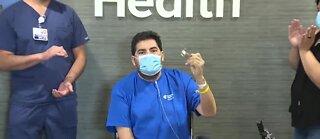 Las Vegas COVID-19 patient leaves hospital