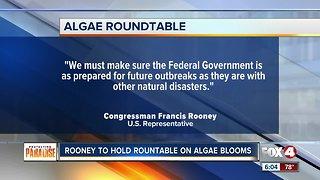 Rooney holds rountable on algae blooms