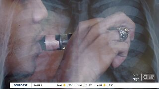Tampa doctor warns that vapers, smokers could face bad COVID-19 outcomes