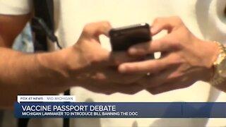 Debate surrounding COVID passports comes to Michigan