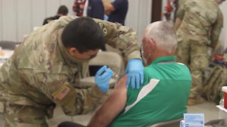 AZNG medic's assists La Paz County Health Department