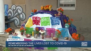 Remembering the lives lost to COVID-19 on the eve of Día de los Muertos