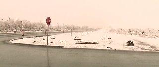 Snowy weather in Las Vegas Valley, Centennial Hills