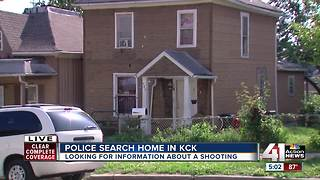 Police search home in KCK