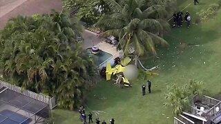 Aerial pictures of Boynton Beach plane crash