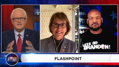 Wendy Rogers Flashpoint Interview on Border, Vaccine Mandates, 2nd Amendment