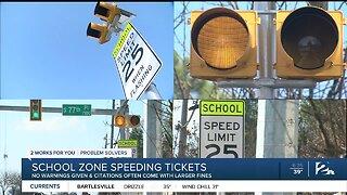 School Zone Speeding Tickets