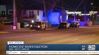 Woman shot, killed in Mesa