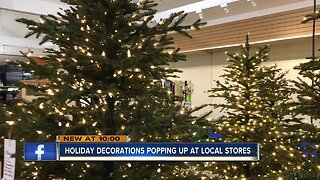 Retailers already selling Halloween, Christmas decorations