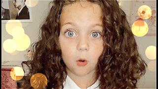 Some Corona Virus quarantine wisdom from 7 year old Sophie Fatu