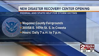 FEMA Disaster Recovery Center opens in Coweta on Tuesday
