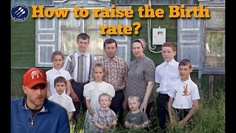 Vincent James || How to raise the birth rate?