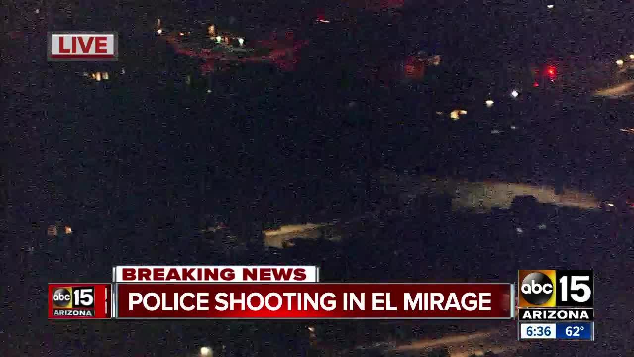 Officer-involved shooting in El Mirage, police K9 shot