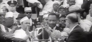 Martin Luther King Jr's I have a Dream anniversary
