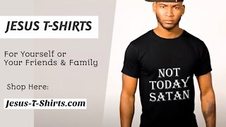 Not Today Satan - Don't Give Up T-Shirts by Jesus T-Shirts