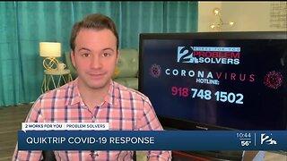 Problem Solvers Coronavirus Hotline: QuikTrip COVID-19 Response