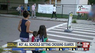 45 elementary schools don't have crossing guards in Hillsborough County