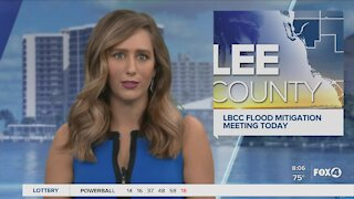 Flood mitigation meeting in Lee County