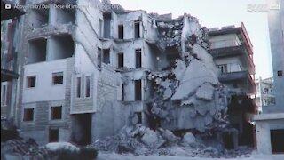 L'impact de la guerre en Syrie capturé en hyperlapse