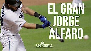 Entrevista con el béisbolista colombiano Jorge Alfaro