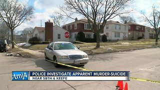 MPD investigating apparent murder-suicide
