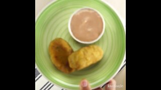 Meat Croquettes with Cheese