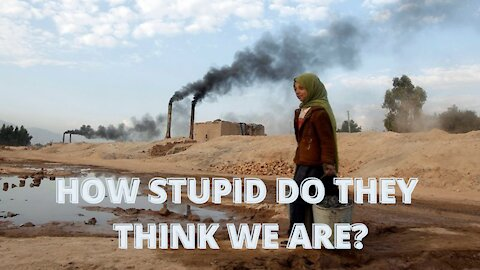 CBS BLAMES CLIMATE CHANGE FOR TALIBANS RE-EMERGENCE