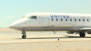 First Denver Flight