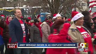 Andy Beshear sworn in as Kentucky governor