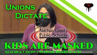 Alachua Teacher's Union - 5/4/21 - We have an MOU to mask the kids