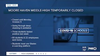Moore Haven Middle-High School temporarily closes