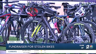 Community comes together to host fundraiser for stolen bikes